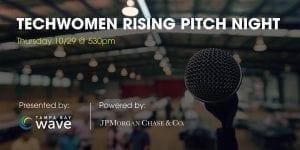TechWomen Rising Accelerator Pitch Night 2020