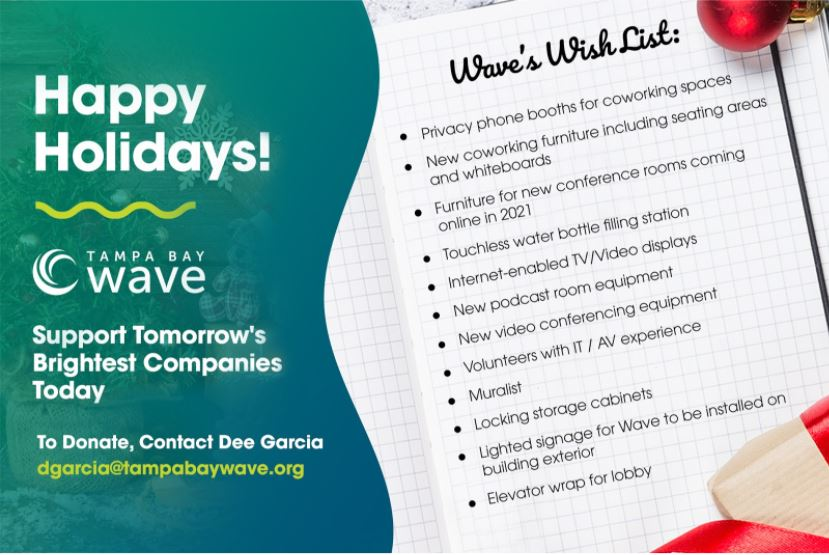 Tampa Bay Wave Wish List