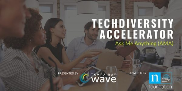 """TechDiversity Accelerator """"Ask Me Anything"""" Session"""