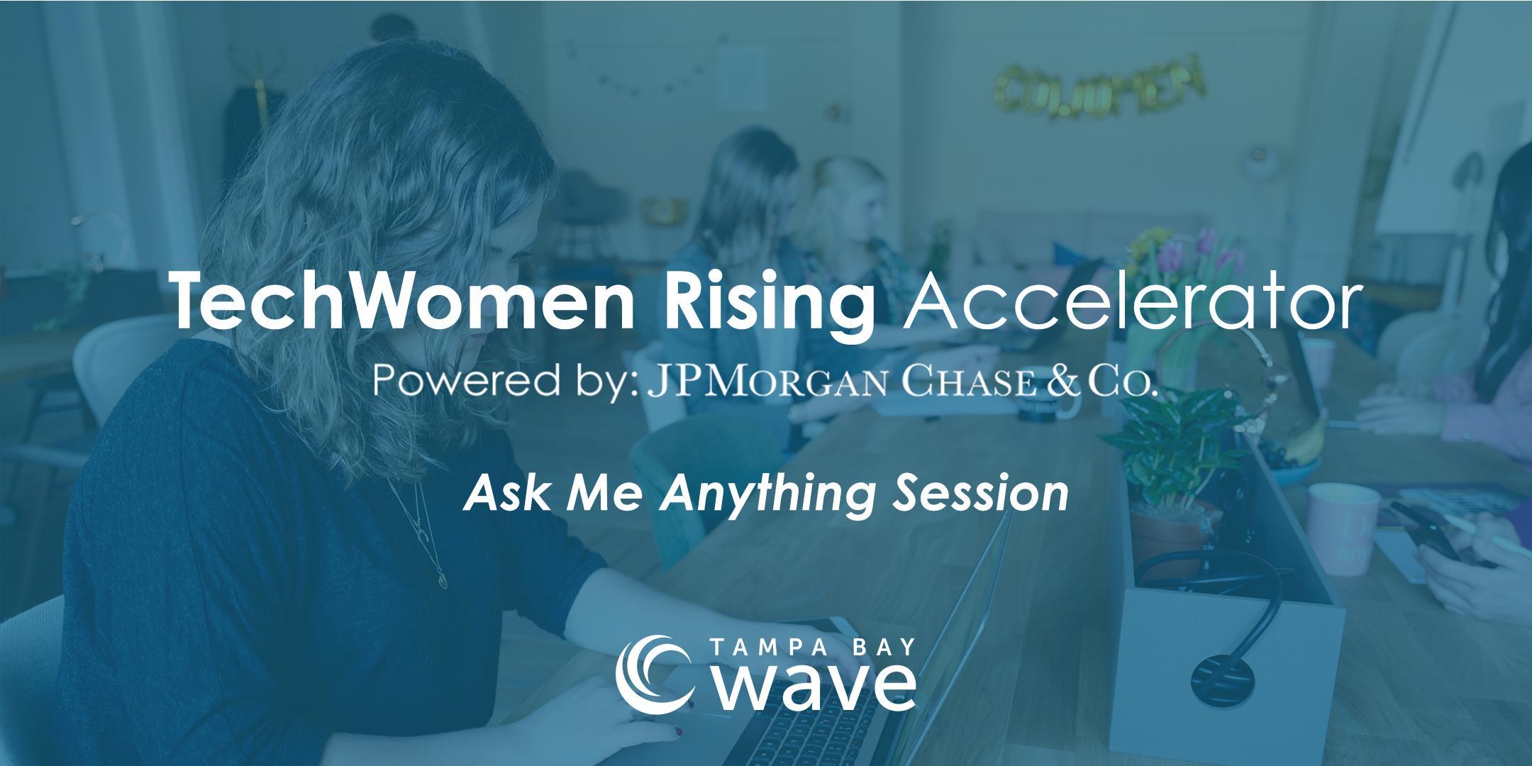 "TechWomen Rising Accelerator Program ""Ask Me Anything"" Session"
