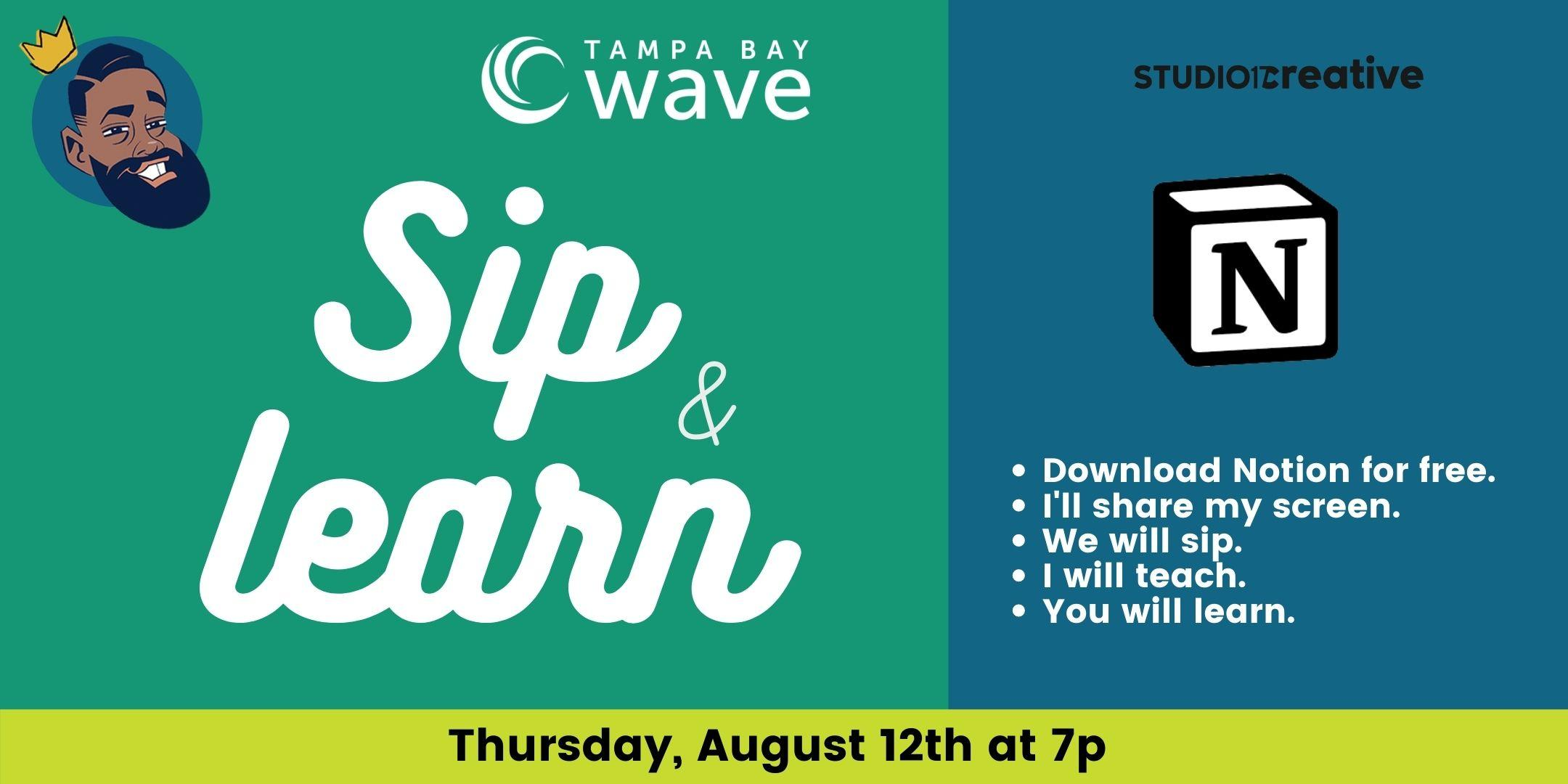 Sip & Learn with Walter Phuego