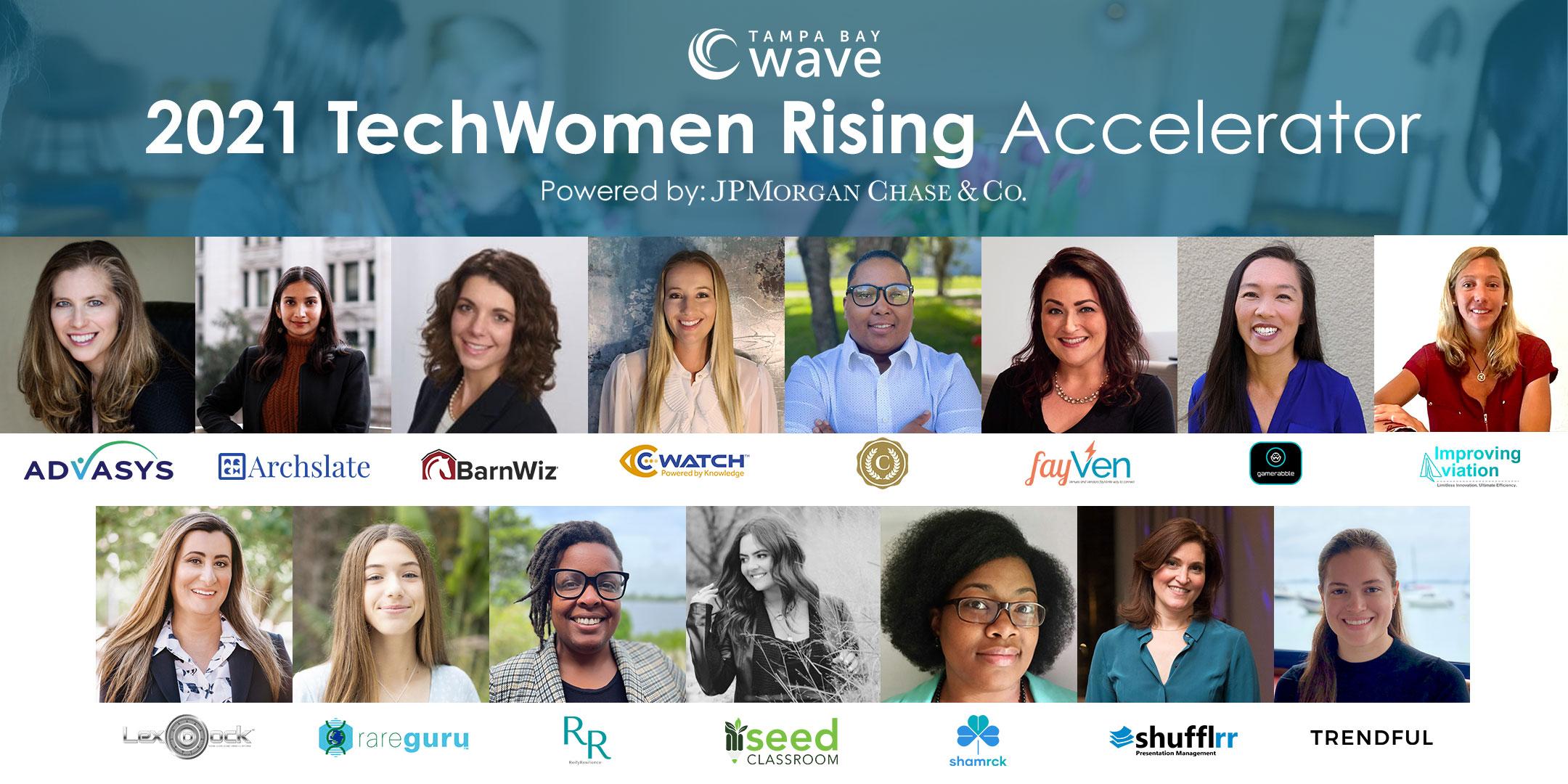 Tampa Bay Wave - 2021 TechWomen Rising Accelerator Cohort